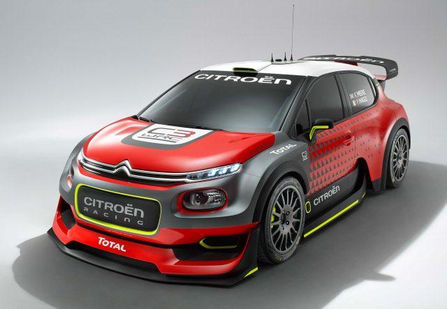 2017 Citroen C3 WRC Concept - front