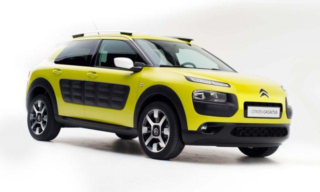 Citroen C4 Cactus - front, yellow
