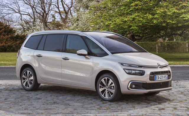 2016 Citroen Grand Picasso facelift - front