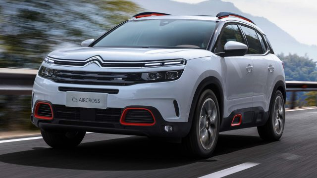 2018 Citroen C5 Aircross - front, white