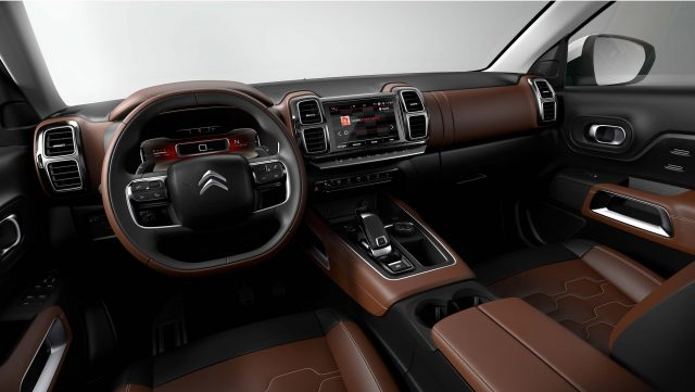 2018 Citroen C5 Aircross - interior, dashboard
