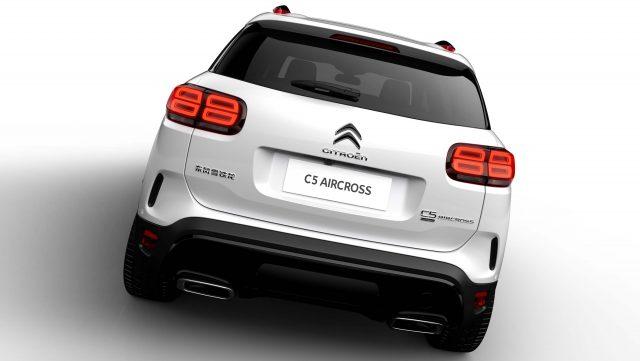 2018 Citroen C5 Aircross - rear