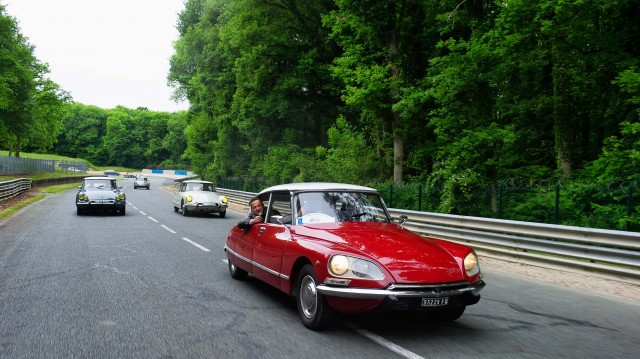 Citroen DS 60th anniversary meeting - red
