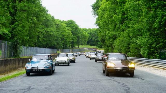 Citroen DS 60th anniversary meeting - fleet