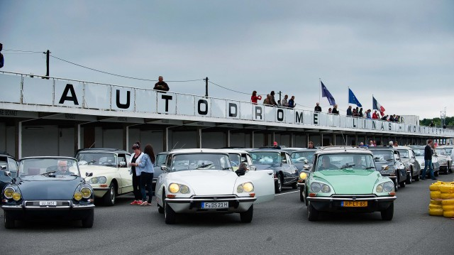 Citroen DS 60th anniversary meeting - Autodrome Linas