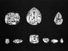 The 9 major Cullinan diamonds
