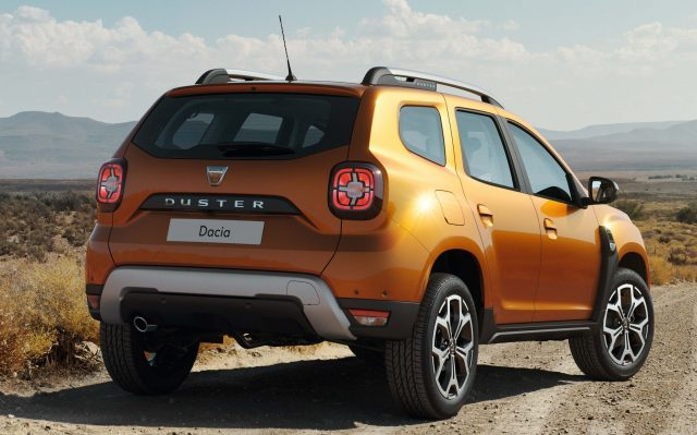 2017 Dacia Duster - rear