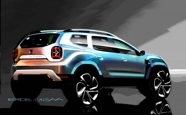2017 Dacia Duster - sketch