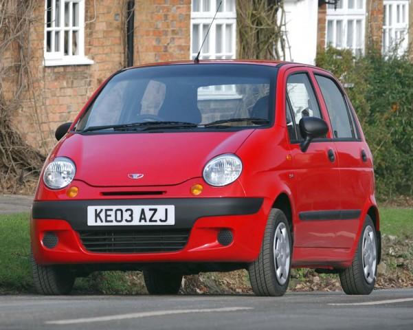 Daewoo Matiz (M100) - front, red