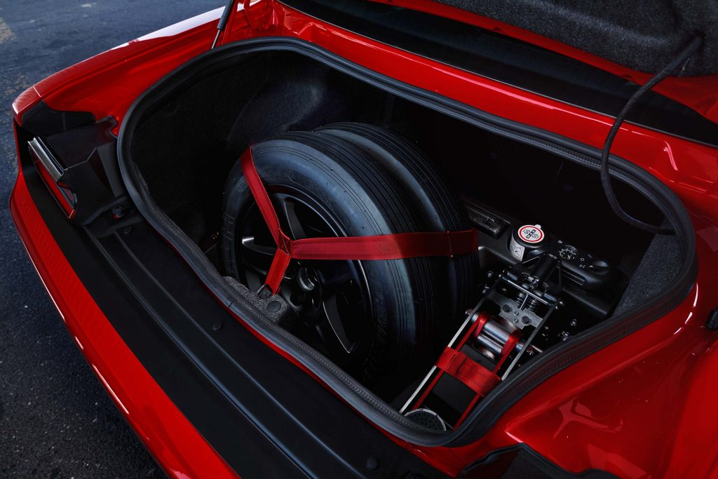 2018 Dodge Challenger SRT Demon Drag Kit features a Demon Track