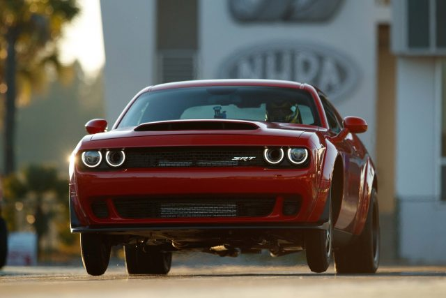 The 2018 Dodge Challenger SRT Demon is the world's first produ