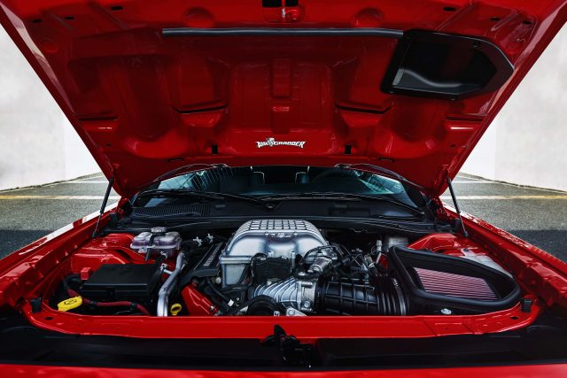 The 2018 Dodge Challenger SRT Demon's 6.2-liter supercharged H