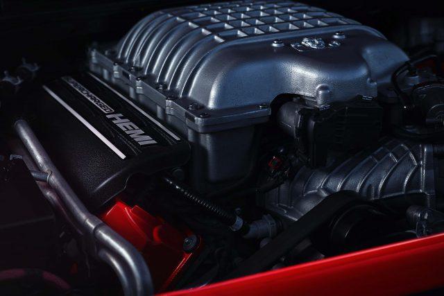 The 2018 Dodge Challenger SRT Demon's 6.2-liter supercharged H
