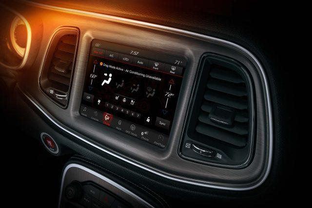 When in Drag Mode, the 2018 Dodge Challenger SRT Demon's cabin