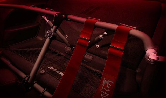 The 2018 Dodge Challenger SRT Demon includes factory-fitted moun