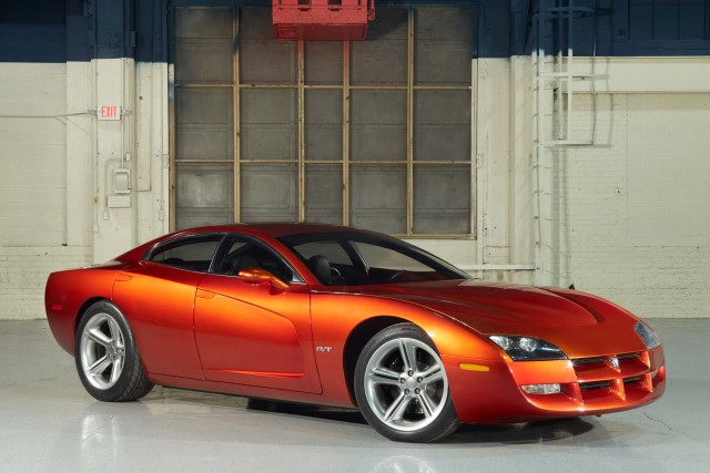 1999 Dodge Charger Concept - front, orange