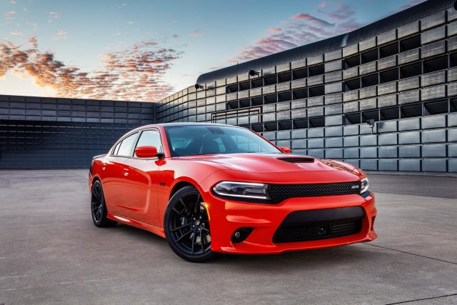 2017 Dodge Charger Daytona 392 - front, red, black stripes