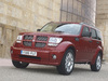 2007 Dodge Nitro - front, red