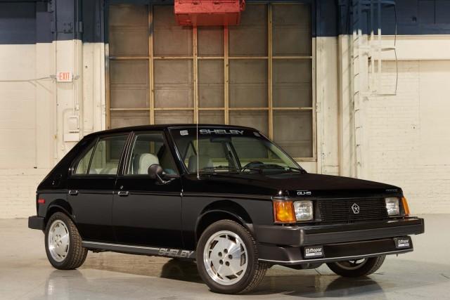 1986 Dodge Omni GLHS - front