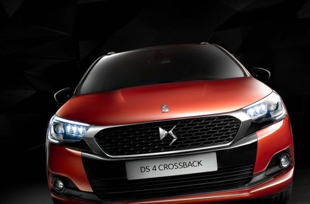 DS 4 Crossback facelift (2015) - nose