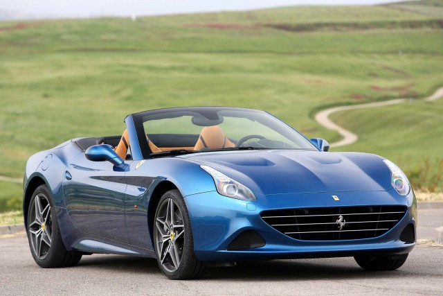 Ferrari California T - front, blue
