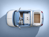 2018 Fiat 500 Spiaggina Showcar - overhead