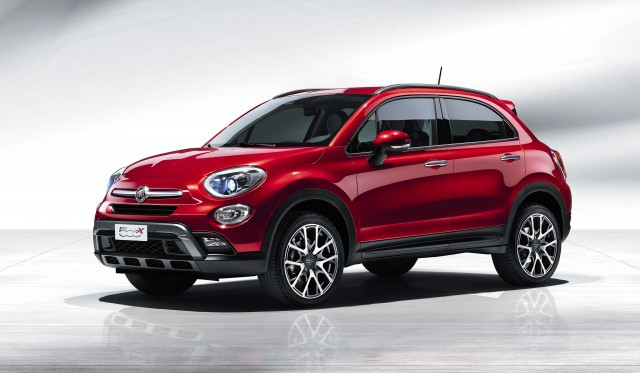 Fiat 500X - in red