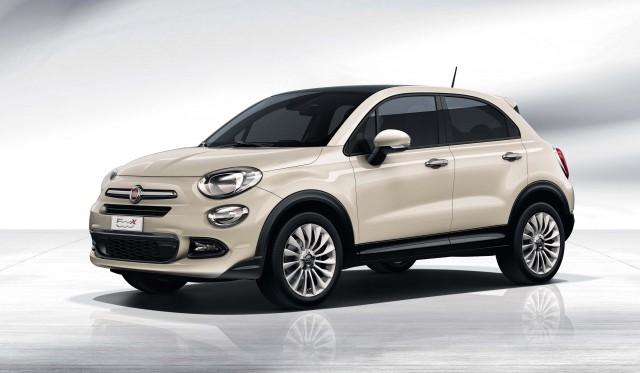 Fiat 500X - white