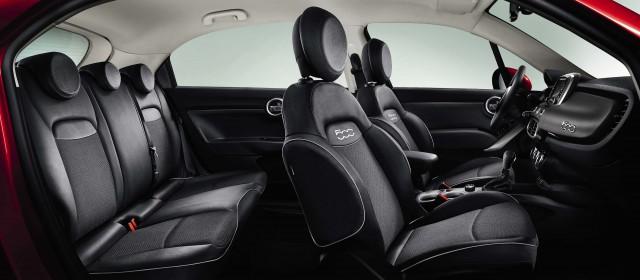 Fiat 500X - dark interior