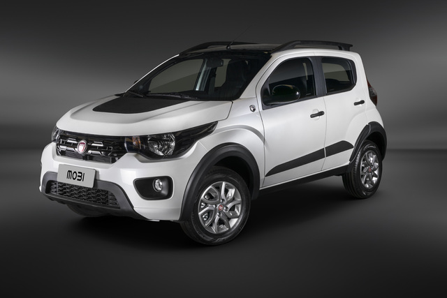 Fiat Mobi Way Extreme Cross 2019 Type X1h First Generation