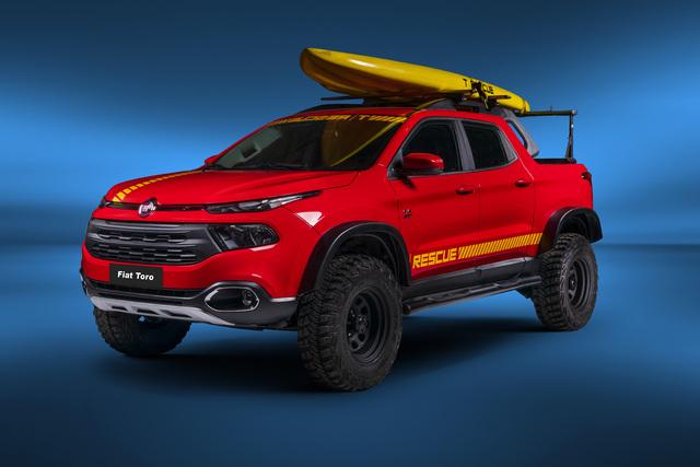 2018 Fiat Toro Rescue concept