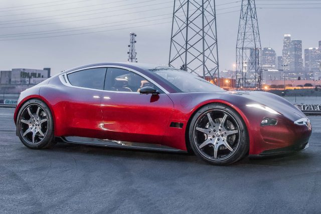 Fisker EMotion (2019, first generation, 2018 CES launch) photos | Between the Axles