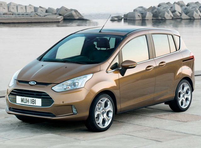 2012 Ford B-Max - front
