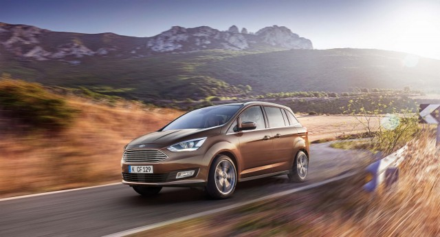 C344 Ford Grand C-Max facelift for 2015 - front