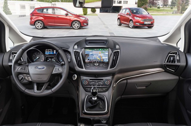 C344 Ford C-Max facelift for 2015 - interior