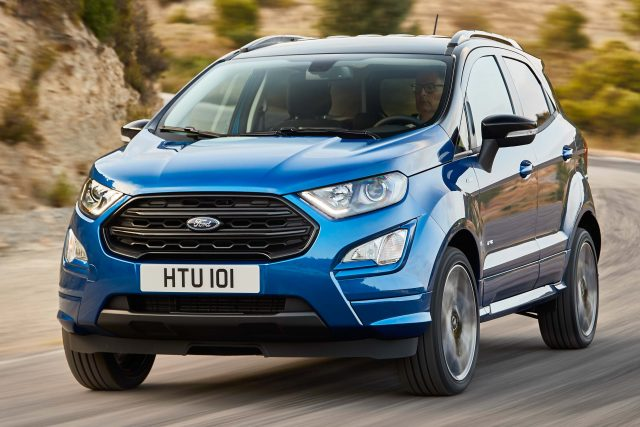 2017 Ford EcoSport EU Facelift