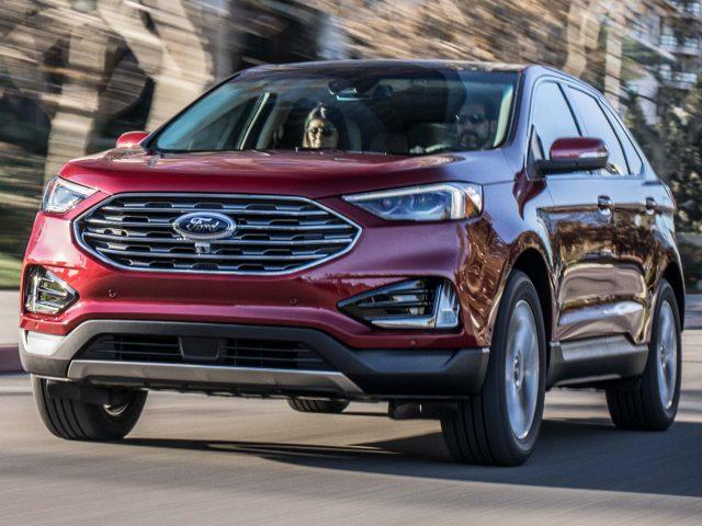 2019 Ford Edge Titanium facelift - front