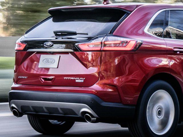 2019 Ford Edge Titanium facelift - rear, taillamps