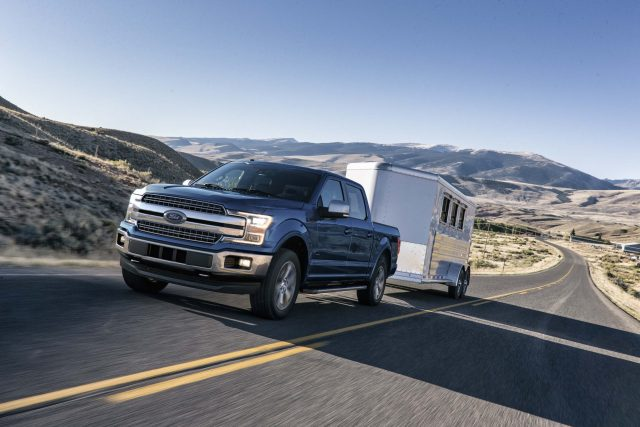 2018 Ford F-150 facelift - towing