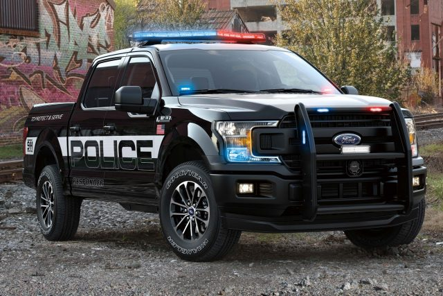 2018 Ford F-150 Police Responder - front