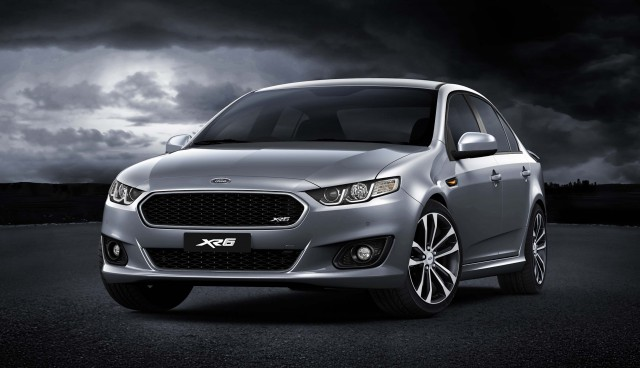 2014 Ford Falcon XR6 in silver