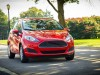 2014 Ford Fiesta - front, red