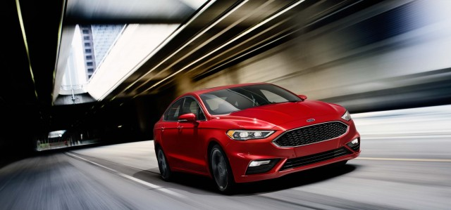 2017 Ford Fusion Sport - front