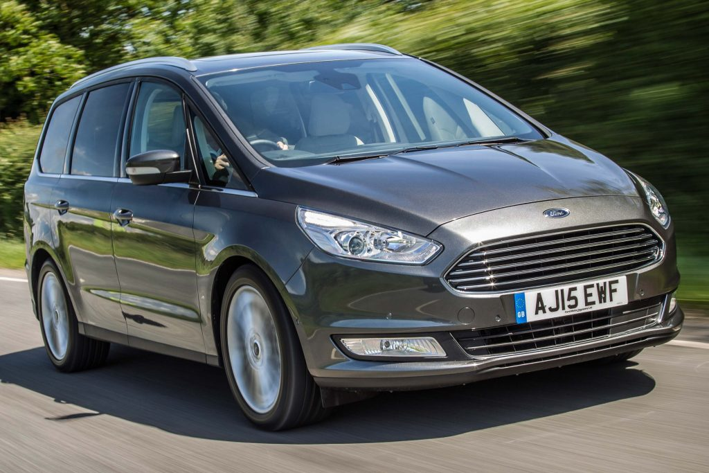 2015 Ford Galaxy - front