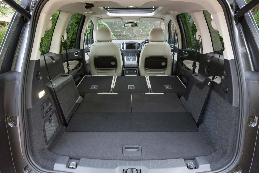 2015 Ford Galaxy - trunk, seats down