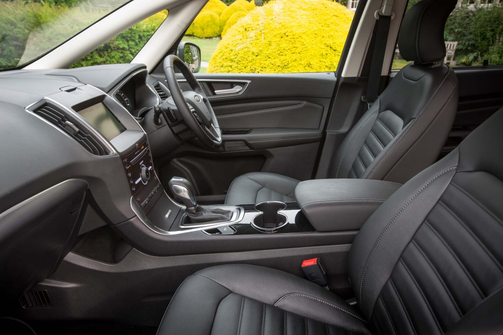 2015 Ford Galaxy - front seats