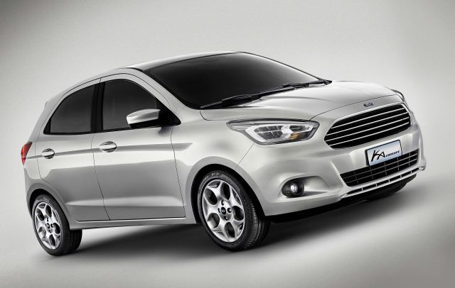 Ford Ka Concept - front, silver