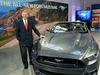2015 Ford Mustang convertible - unveiled, Times Square, Alan Mullaly