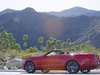 2015 Ford Mustang convertible - red