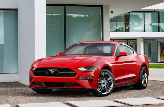 2018 Ford Mustang Pony Package